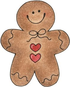 0 images about gingerbread on gingerbread man cliparts Christmas Rock, Handmade Christmas, Christmas Holidays, Christmas Decorations, Christmas Ornaments, Gingerbread Man Decorations, Christmas Clipart, Christmas Printables, Christmas Pictures