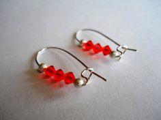 Hyacinth Crystal Earrings