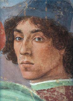 Fra Filippo Lippi (1459 — 1504, Italy) Self-portrait