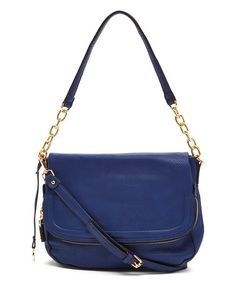 cee1f308cc39 Tosca Navy Chain-Strap Shoulder Bag