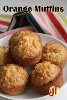 Bakery Style Orange Muffins with Step by Step Pictures. Muffins with perfect muffin top and has a light and crumbly texture. Muffin Recipes, Baking Recipes, Dessert Recipes, Orange Recipes Baking, Desserts, Custard Recipes, Fruit Recipes, Breakfast Recipes, Vegan Recipes
