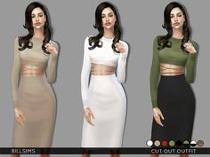 Cut Out Outfit – The Sims 4 Catalog