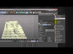 Create 3d geometry from USGS DEM data in Cinema 4D. Overlay the landmark model with a high resolution contour map to create a dynamic 3d map. Using USGS GIS ...