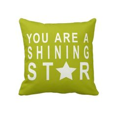 #Green #Star #Inspirational #Typoghraphy or #text #Throw #Pillow or #Cushion. http://www.zazzle.com/pink_red_stripes_pattern_iphone_5_case-179000984476206517?CMPN=addthis=en=238213022379565456
