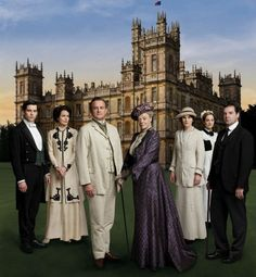 Hugh Bonneville, Maggie Smith, Maureen McGovern, Michelle Dockery, Joanne Froggett, Brendan Coyle & Rob James-Collier