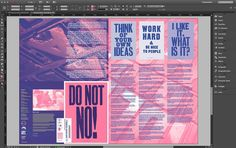 Today we've been finalising #Posterzine Issue 04 @anthonyburrill - order your copy from @deptstoreldn www.department-store.co