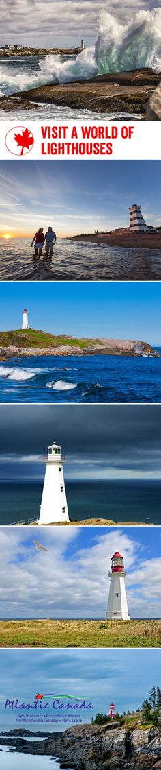 With so many beautiful coastlines and coastal towns in Atlantic Canada, it's no wonder the region is full of incredible lighthouses with equally as spectacular backdrops. Here are our favourites to visit