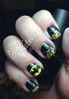 30-Easy-Simple-Batman-Nail-Art-Designs-Ideas-Trends-Stickers-2014-28.jpg (450×649)