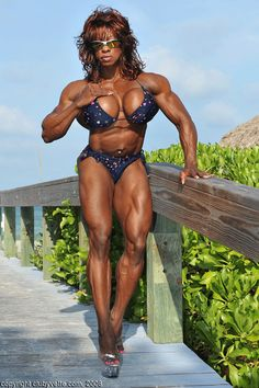 nude male and female body builders