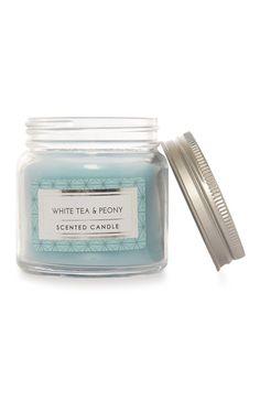 Primark - White Tea And Peony Candle