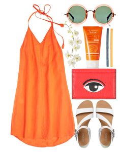 FZNV by krizan on Polyvore featuring Calypso St. Barth, ALDO, Kenzo, Linda Farrow, NIKE, Avène and Pier 1 Imports