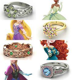 Princess rings