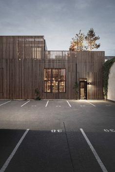 Wohnen auf dem Parkplatz - Atriumhaus in Kopenhagen