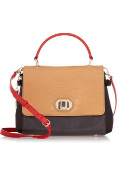 I really like the colour blocking on this tote - Bag Snob for DKNY Treasure tote
