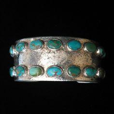 cerrillos turquoise cuff
