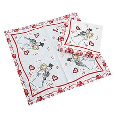 Beverage Napkins - Bride&Groom (Set of 10) – EUR € 3.29