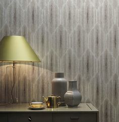 Pattern_SUBLIME. Simply.... Sublime. Textile wallcovering made with linen and metallic fibers.