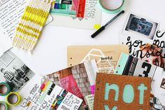 52 Weeks Of Art Journaling by Rachel Denbow  I want this. An at your own pace art journaling course. And its only $34