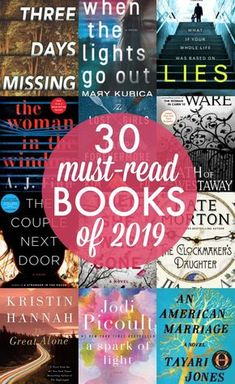 Must read fiction books 2019
