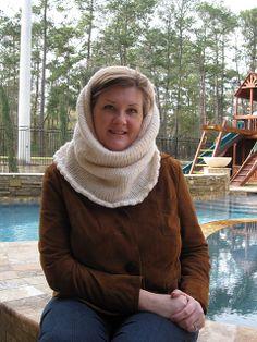 Free! - Ravelry: Knitted Hood pattern by Lion Brand Yarn