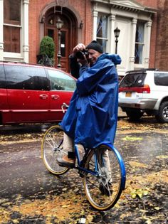 Bill Cunningham in Hurricane Sandy