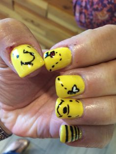 My winnie the pooh nails