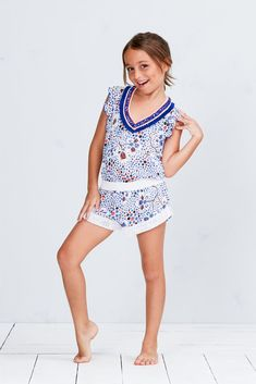 Poupette St Barth - The Iconic St Barth Brand Girly Girl Outfits, Kids Outfits Girls, Cute Outfits, Preteen Girls Fashion, Young Girl Fashion, Girls Short Dresses, Girls Leotards, Cute Young Girl, Beautiful Little Girls