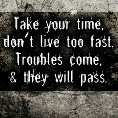 night time quotes and sayings | Take your time | Friendship Quotes - a large collection of famous and ...