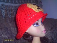 Crochet Firemen hat.