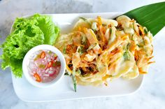 Ukoy (Shrimp Fritter) Filipino Recipe | Filipino Foods And Recipes - Pinoy foods at its finest.