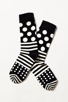 Socks! Regular length and cotton! Doesn't have to be these ones, obvi, but it's an example :)