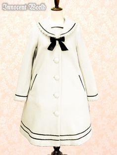 Lolibrary | Innocent World - Coats - Sailor Collar Coat