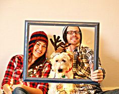DIY Christmas card photo shoot