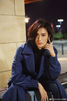 Asian Boys, Asian Men, Androgynous Haircut, Boys Long Hairstyles, Asian Actors, Guys And Girls, Pretty People, Asian Beauty, Hair Beauty