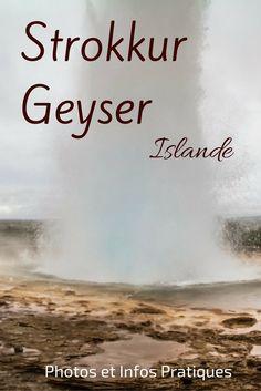 Les éruptions du geyser de Strokkur en Islande ont lieu toutes les 3 à 8 minutes. L'eau est souvent propulsée à 20 mètres de haut. Mais ce qui est le plus hypnotisant, c'est peut être la bulle bleue qui se forme sut avant - Video, Photos et infos pratiques à http://zigzagvoyages.fr/strokkur-geyser-islande/