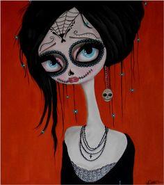 Dottie Gleason, The Return. #skull #skulls #obsessedwithskulls #dottiegleason