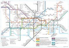 Plano Mapa De Metro Londres