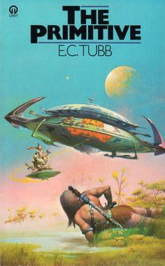 Publication: The Primitive  Authors: E. C. Tubb Year: 1977-12-00 ISBN: 0-86007-974-0 [978-0-86007-974-3] Publisher: Orbit  Cover: Peter Jones