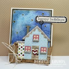 Danielle Lounds using the House Thinlits Die - MidnightHouse_A_DanielleLounds