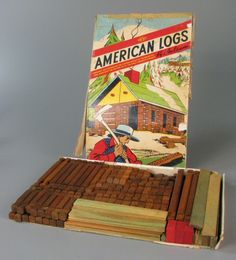112.1948: American Logs | construction set | Play Sets | Toys | Online Collections | The Strong