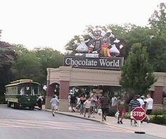 Hershey's Chocolate World - Hershey, Pennsylvania