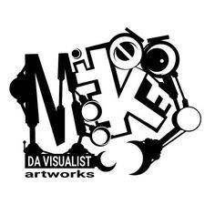 Mike Da Visualist Artworks t-shirt design
