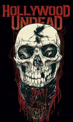 Hollywood Undead Ally Art by Daniel Mono on CreativeAllies.com