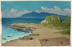 Furo, Boshu  by Kawase Hasui, 1949  (published by Watanabe Shozaburo)