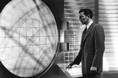 Michael Rennie as Klaatu, on board his space ship in The Day the Earth Stood Still  http://family-friendly-movies.com/science-fiction/the-day-the-earth-stood-still/