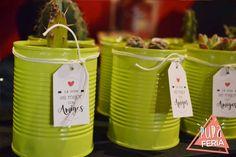Latas recicladas, en Pura Feria, festejo dìa del amigo!!
