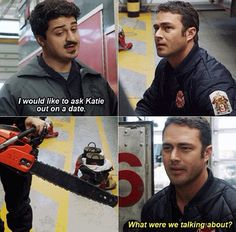 Otis and Kelly - Chicago Fire