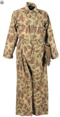 WW2 USMC Jungle Suit HBT