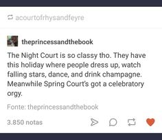 Night Court x Spring Court #tumblr