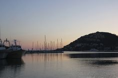 port de Andratx, at sunset, Mallorca